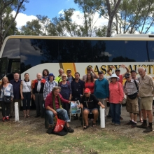 Client outing to York, courtesy of Casey Australia