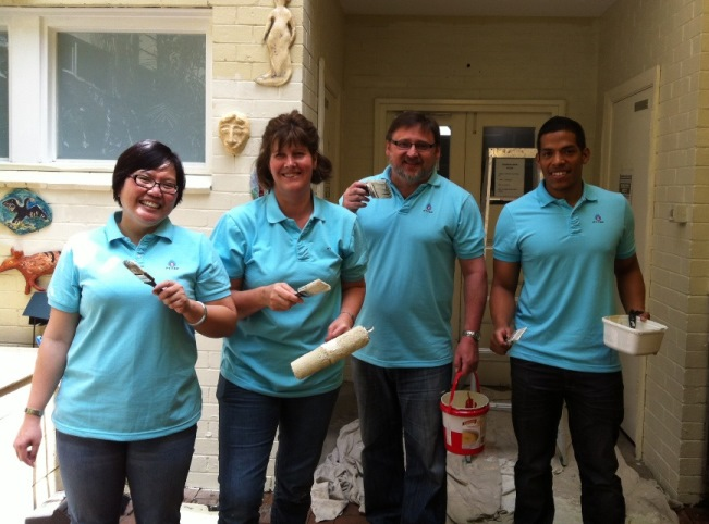 PTTEP Volunteers for St Pats - St  Patrick's Community
